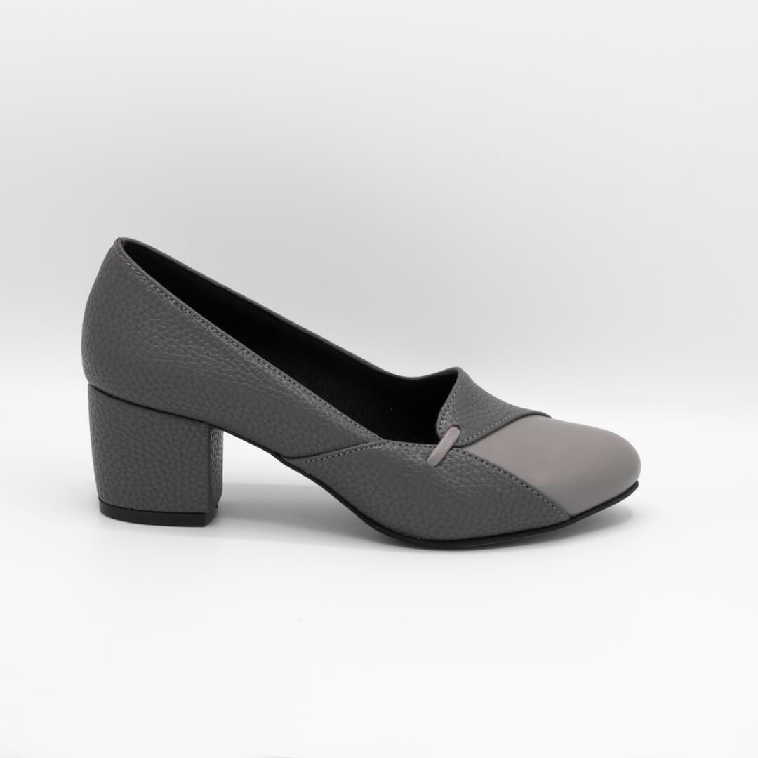 کفش زنانه طوسی