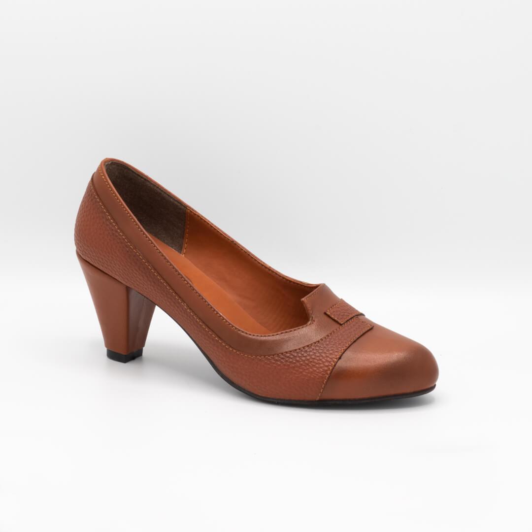 کفش مجلسی عسلی