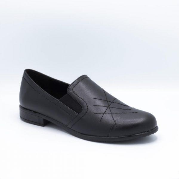 کفش کالج مشکی 3k108