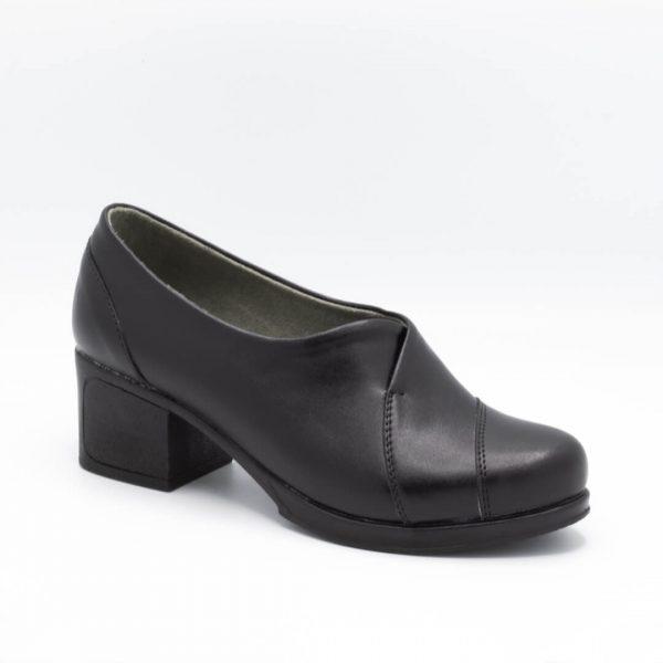 کفش اداری زنانه مشکی کد 15E102