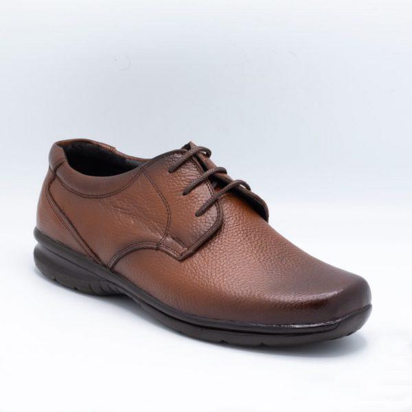 کفش اداری مردانه قهوهای