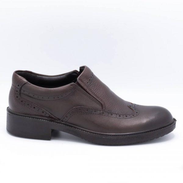 کفش مجلسی مردانه قهوهای