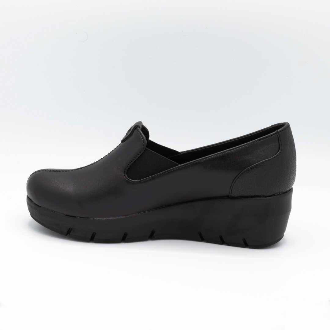 کفش طبی زنانه مشکی لجدار