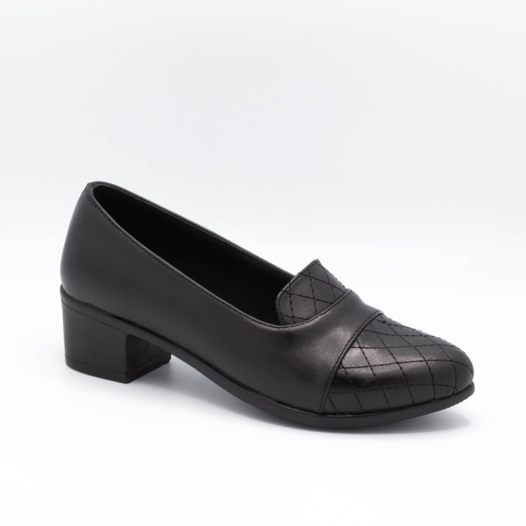 کفش زنانه مجلسی مشکی پاشنه 5 سانتی