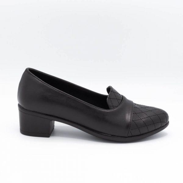 کفش مجلسی زنانه مشکی پاشنه 5 سانتی