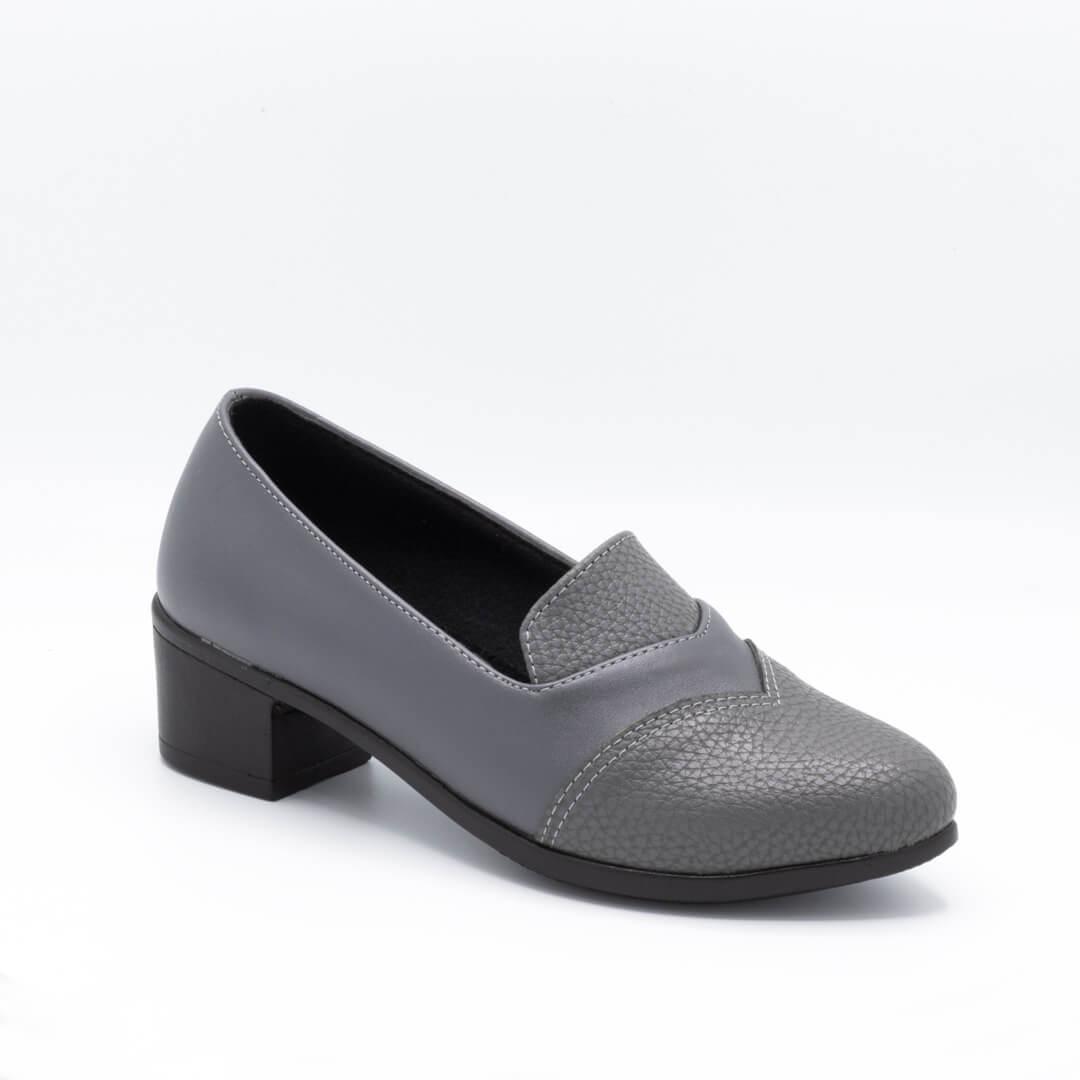 کفش مجلسی زنانه طوسی