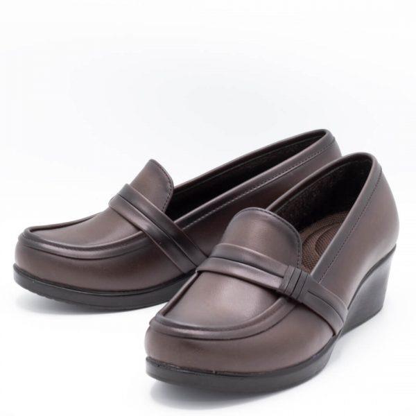 کفش طبی قهوه ای 5t101