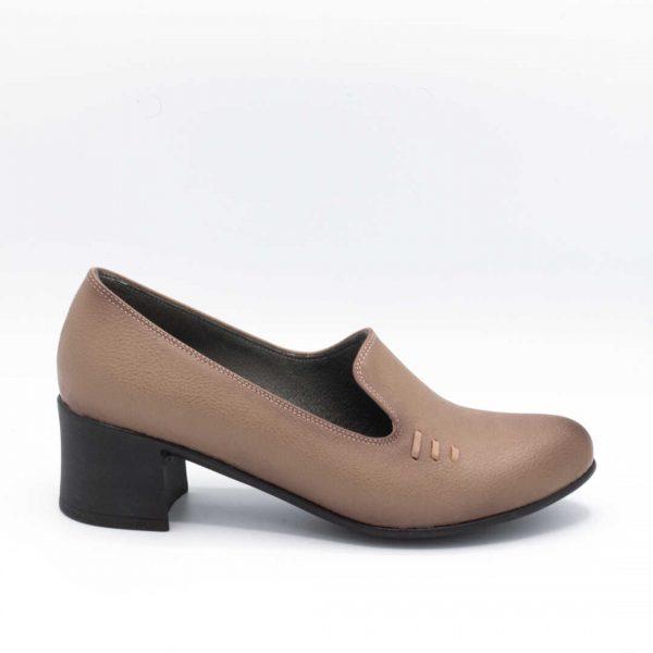 کفش اداری زنانه ویزون پاشنهدار