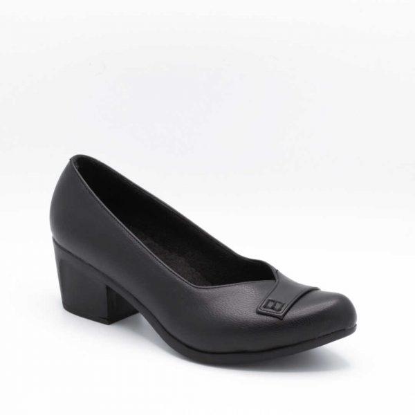 کفش اداری زنانه پاشنهدار مشکی
