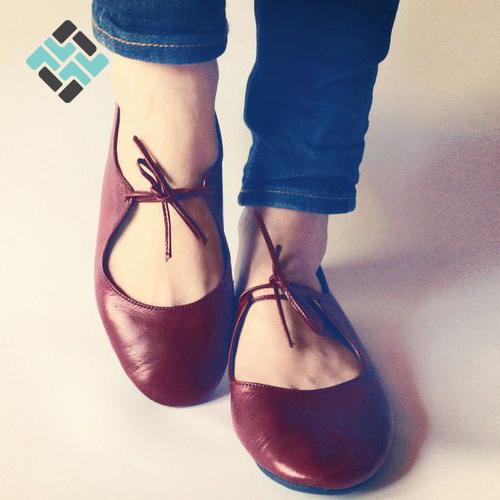 مدل جدید کفش زنانه راحتی قرمز