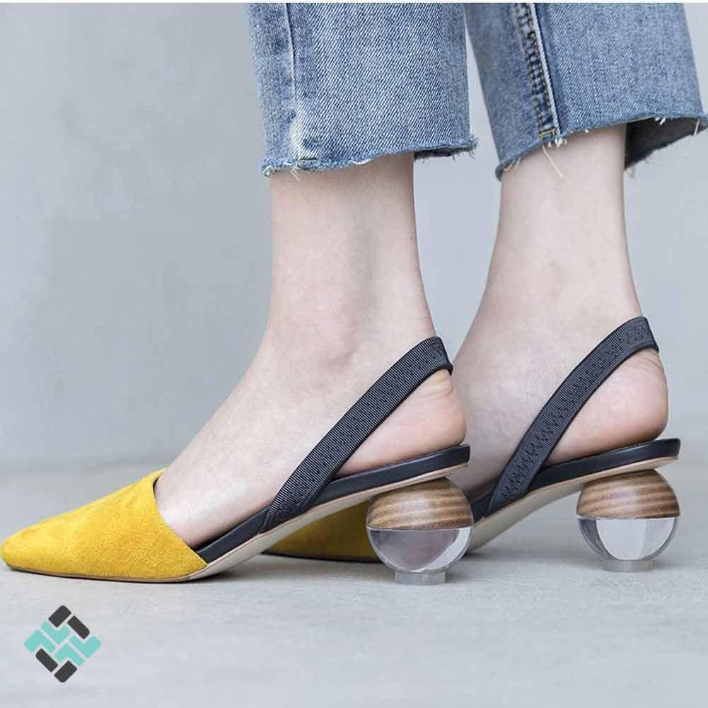 کفش پاشنه هندسی1