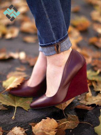 کفش پاشنه یکسره